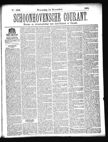 Schoonhovensche Courant 1904-12-14