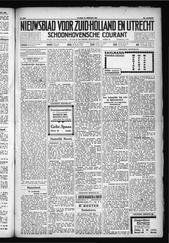 Schoonhovensche Courant 1930-02-21