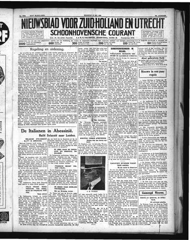 Schoonhovensche Courant 1936-05-25