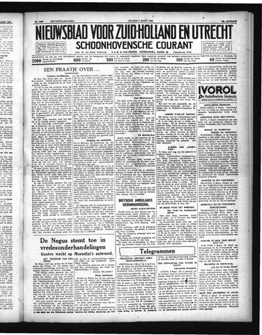 Schoonhovensche Courant 1936-03-06