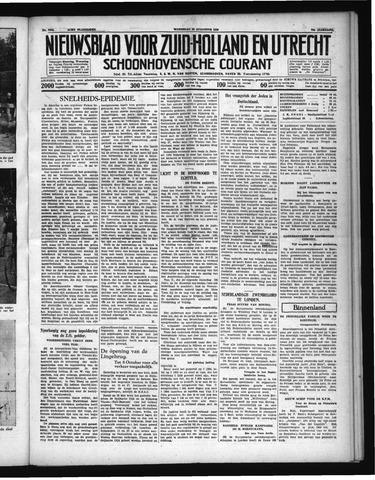 Schoonhovensche Courant 1938-08-10