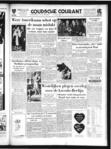 Goudsche Courant 1958-12-06