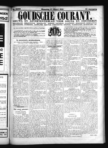 Goudsche Courant 1933-03-27