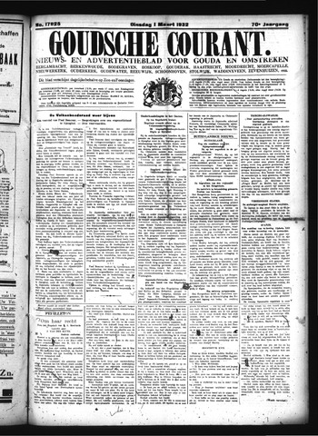 Goudsche Courant 1932-03-01