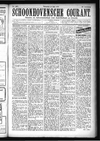 Schoonhovensche Courant 1923-06-11