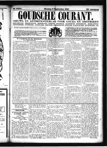 Goudsche Courant 1925-09-08