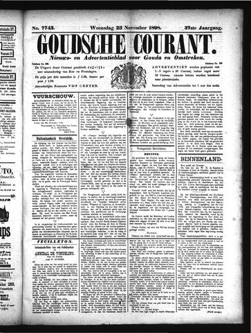 Goudsche Courant 1898-11-23