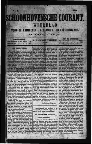 Schoonhovensche Courant 1869-07-04