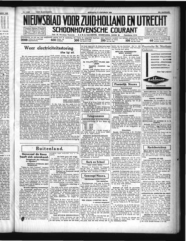 Schoonhovensche Courant 1935-11-27