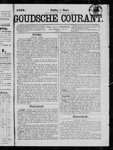 Goudsche Courant 1865-03-05