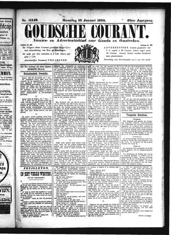 Goudsche Courant 1910-01-10