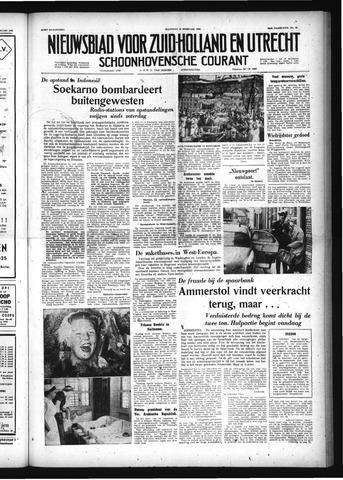Schoonhovensche Courant 1958-02-24