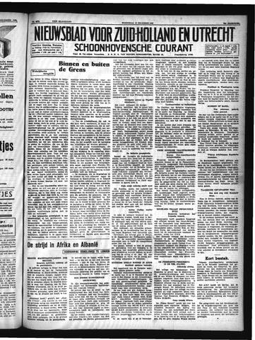Schoonhovensche Courant 1940-12-18