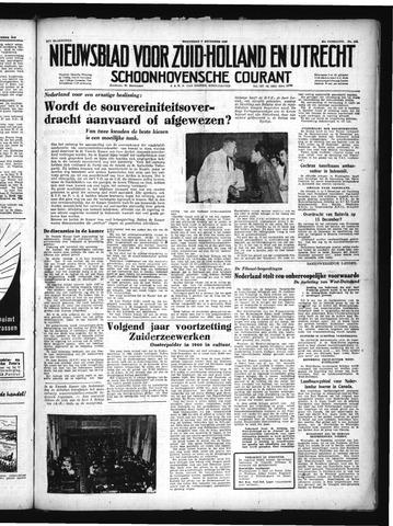 Schoonhovensche Courant 1949-12-07