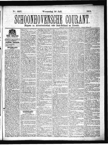 Schoonhovensche Courant 1912-07-10