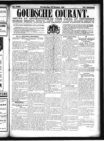 Goudsche Courant 1931-10-22