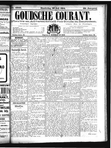 Goudsche Courant 1914-07-30