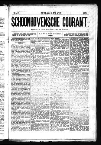 Schoonhovensche Courant 1878-03-03