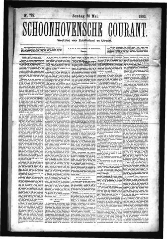 Schoonhovensche Courant 1883-05-20