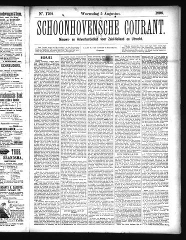 Schoonhovensche Courant 1896-08-05