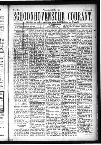 Schoonhovensche Courant 1922-05-24