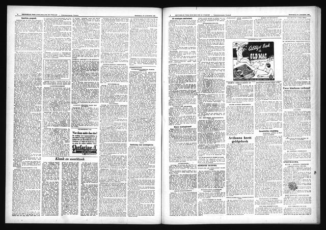 Schoonhovensche Courant 1952-08-27
