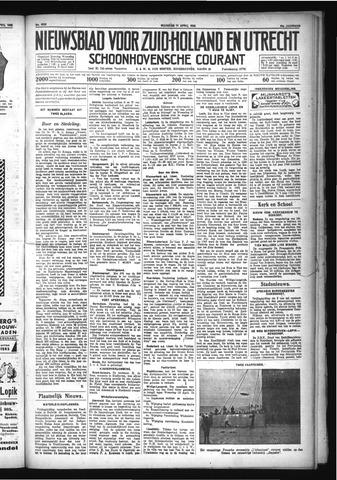 Schoonhovensche Courant 1932-04-11