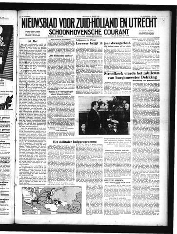 Schoonhovensche Courant 1950-03-06