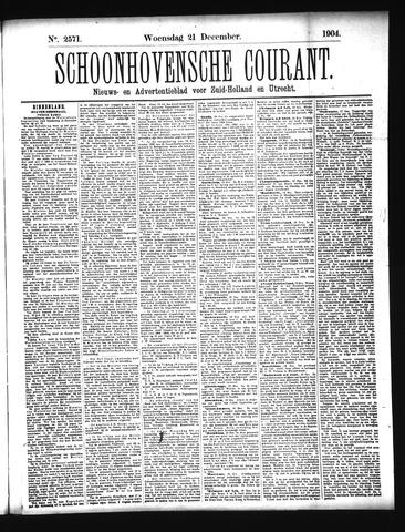 Schoonhovensche Courant 1904-12-21
