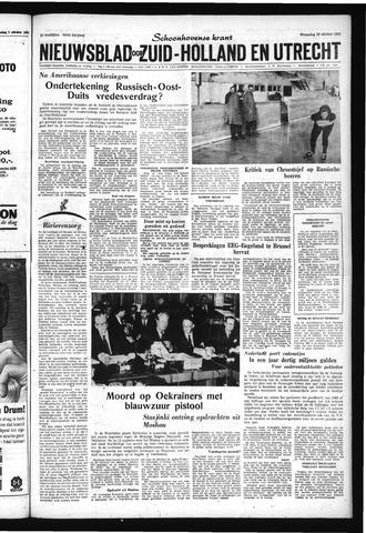 Schoonhovensche Courant 1962-10-10
