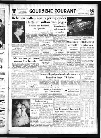 Goudsche Courant 1958-02-10