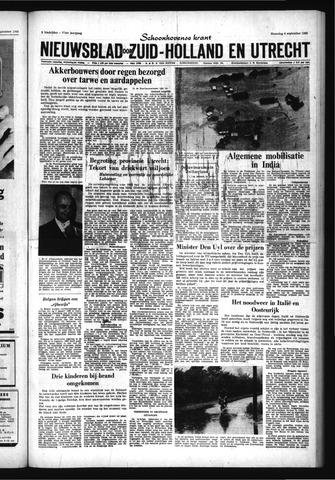 Schoonhovensche Courant 1965-09-06