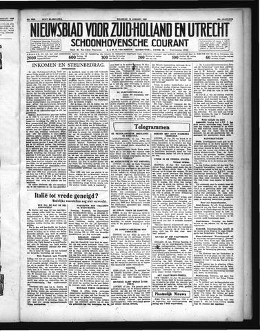 Schoonhovensche Courant 1936-01-13