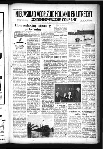 Schoonhovensche Courant 1957-02-01