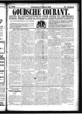 Goudsche Courant 1929-02-21
