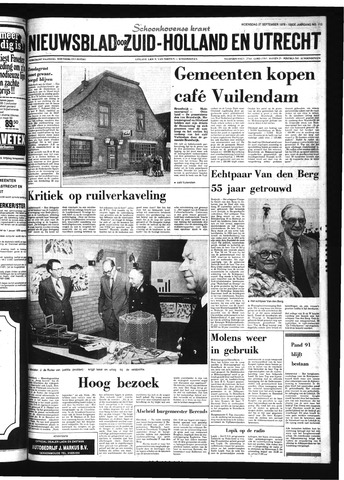 Schoonhovensche Courant 1978-09-27