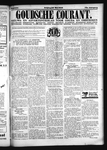 Goudsche Courant 1936-05-22