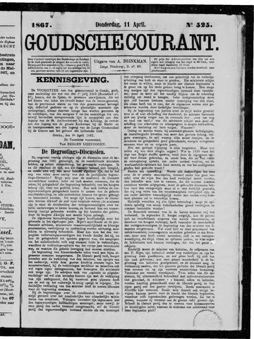 Goudsche Courant 1867-04-11