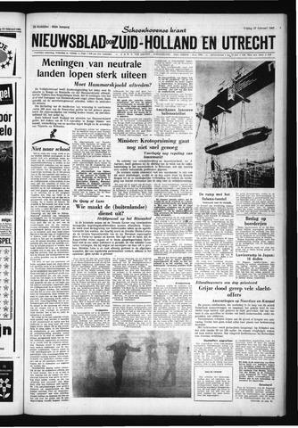 Schoonhovensche Courant 1961-02-17