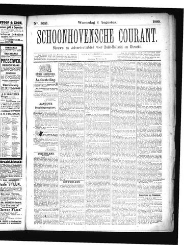 Schoonhovensche Courant 1909-08-04