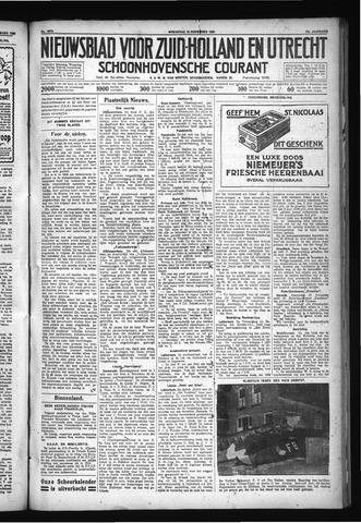 Schoonhovensche Courant 1930-11-19