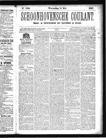 Schoonhovensche Courant 1897-05-12