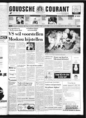 Goudsche Courant 1991-02-22