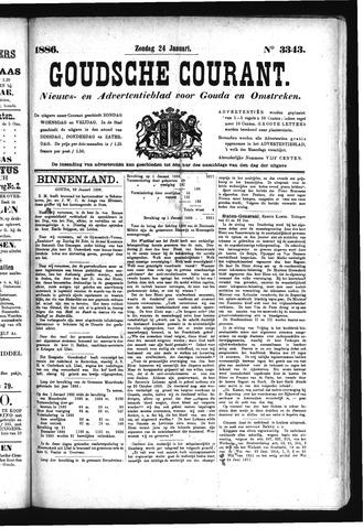 Goudsche Courant 1886-01-24