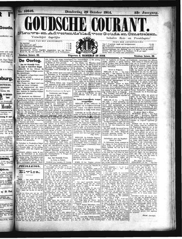 Goudsche Courant 1914-10-29