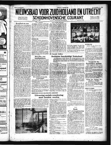 Schoonhovensche Courant 1950-10-06