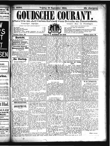 Goudsche Courant 1914-09-18