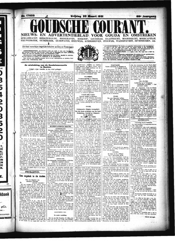 Goudsche Courant 1931-03-20