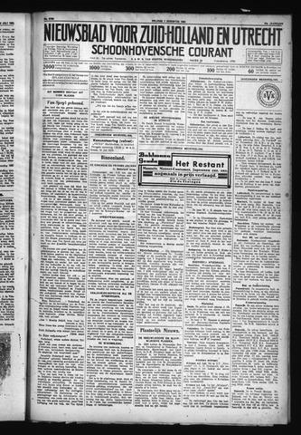 Schoonhovensche Courant 1930-08-01