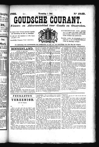 Goudsche Courant 1892-06-01